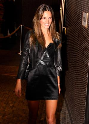 Alessandra Ambrosio at the New York premiere of the Runaways on March 17, 2010