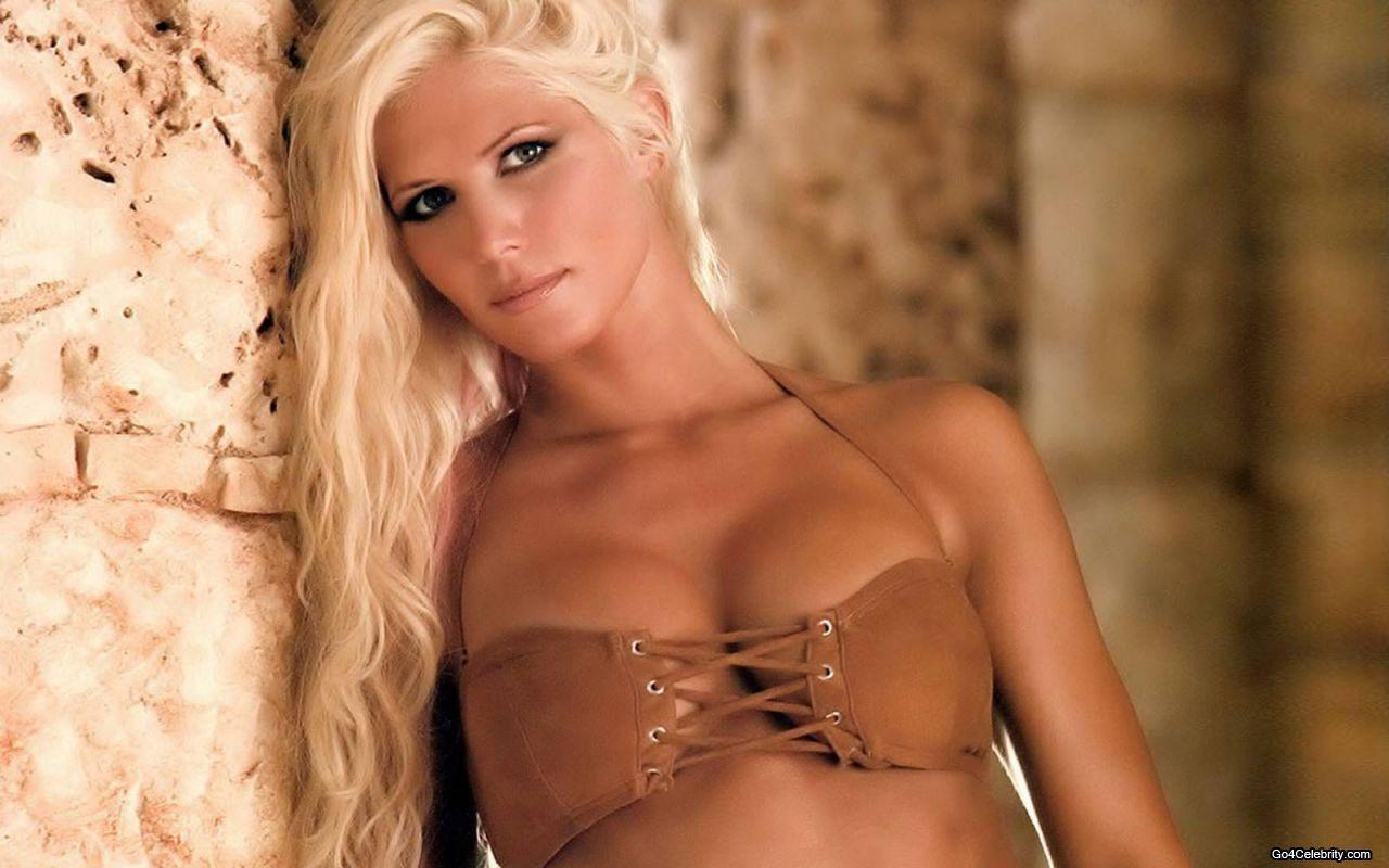 Torrie Wilson in a bikini
