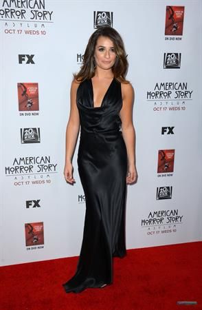 Lea Michele FST American Horror Story Asylum premiere in LA 10/13/12