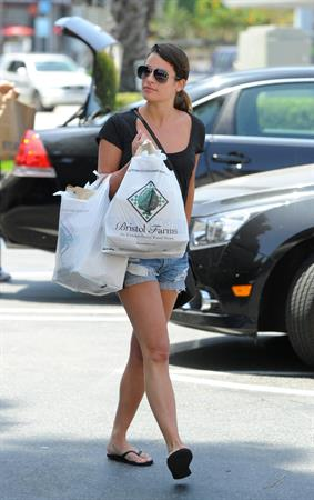 Lea Michele - Hollywood  -  9 June, 2012