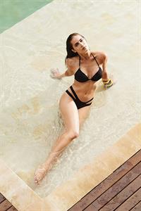 Rebeca Campelo in a bikini