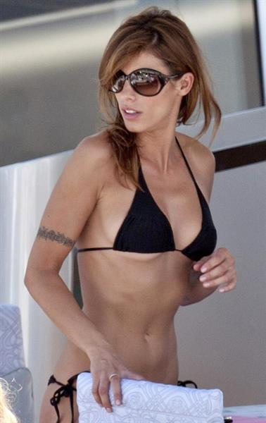 Elisabetta Canalis in a bikini
