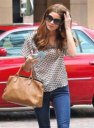 Ashley Greene out and about in Los Angeles 03 08 12
