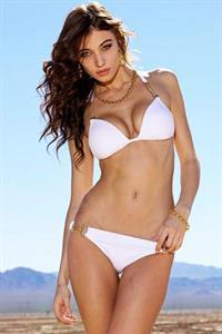 Cora Deitz in a bikini