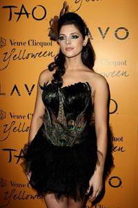 Ashley Greene Veuve Clicquot Yelloween in Las Vegas