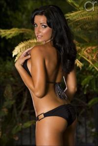 Natalie Kathleen Plitz in a bikini