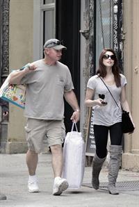 Ashley Greene shopping in New York City on March 18, 2011