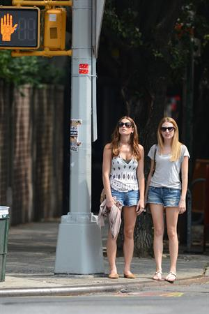 Ashley Greene - August 24 2012 - Out and About with her Publicist - Friend in East Village, New York