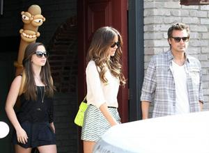 Kate Beckinsale Spotted at the Joel Silver Memorial Day party at his house in Malibu May 27, 2013