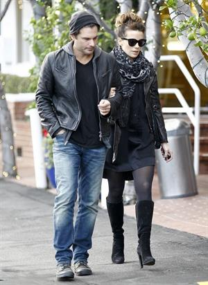 Kate Beckinsale  Did some shopping at Mayfield and Fred Segal in L.A.  December 2, 2012