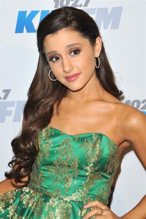 Ariana Grande KIIS FM's 2012 Jingle Ball - Night 2, 03 Dec 2012