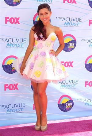 Ariana Grande - 2012 Teen Choice Awards in Universal City (July 22, 2012)