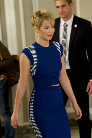 Jennifer Lawrence  The Hunger Games - Catching Fire  Madrid Photocall on Nov 13, 2013