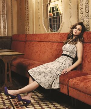 Jennifer Lawrence's Photoshoot by Patrick Fraser for The Wrap