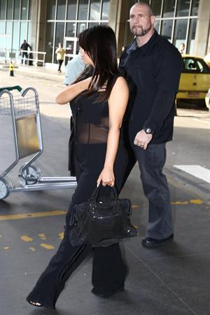 Kim Kardashian - Touring In Brazil With Kanye West