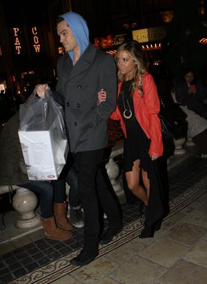 Ashley Tisdale holiday shopping at The Grove in LA 12/15/12