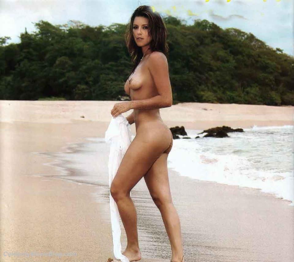 Naked alicia machado wet nipples