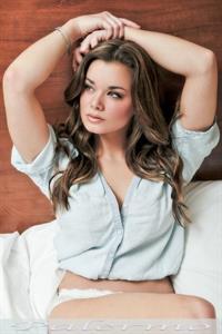 Dessie Mitcheson in lingerie