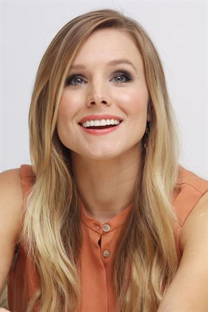 Kristen Bell  Hit And Run  Press Conference, Aug 12, 2012