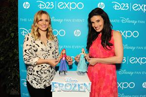 Kristen Bell at Disney's D23 Epo in Anaheim, California - August 9, 2013