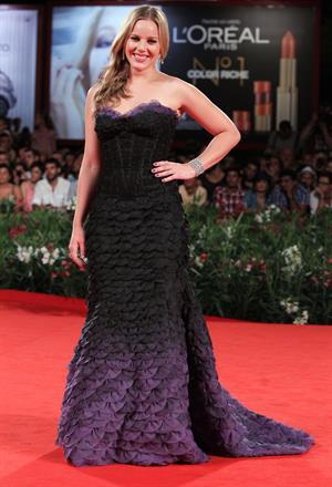 Abbie Cornish W.E. premiere at the 68th Venice film festival Italy 01.09.11
