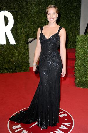 Abbie Cornish at the Vanity Fair Oscar Party in West Hollywood on February 27, 2011