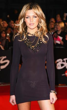 Abigail Clancy Brit Awards 2008 London