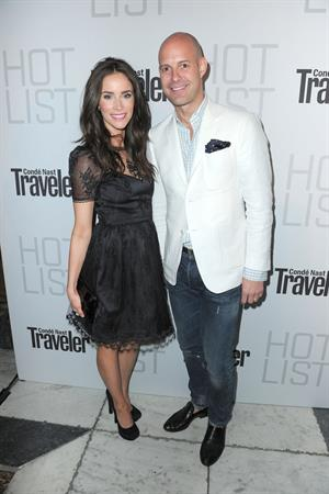 Abigail Spencer Conde Nast Traveler annual hot list party in West Hollywood on April 11, 2011