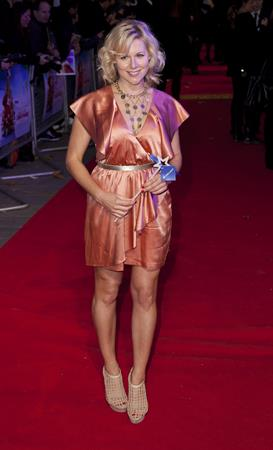 Abi Titmuss Arthur Christmas UK premiere November 6, 2011
