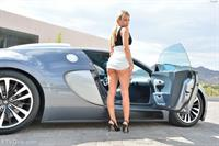 Kendall Kayden with a hot ride