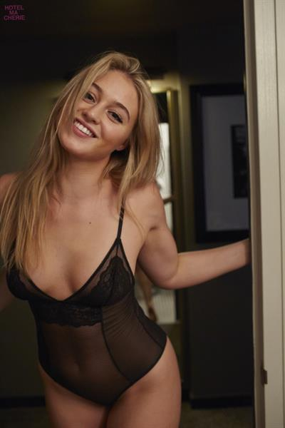 Iskra Lawrence - Hotel Ma Cherie Photoshoot 2015