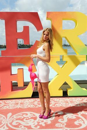 Erin Heatherton for Victoria's Secret Very Sexy Jet tour February 28, 2012