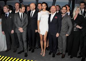 Adriana Lima IWC Schaffhausen Top Gun Gala on January 17, 2012