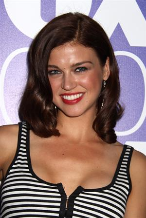 Adrianne Palicki Fox Upfront after party at Wollman Rink Central Park on May 17, 2010