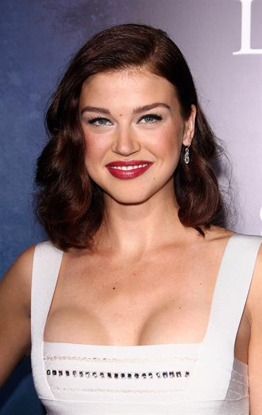 Adrianne Palicki Legion Los Angeles premiere at Arclight Cinema's Cinerama Dome on January 21, 2010