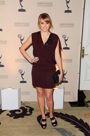 Aimee Teegarden Annual Television Academy Honors held at Beverly Hills Hotel on May 5, 2011