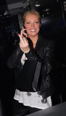 Aisleyne Wallace Anessis Spa launch on January 13, 2011