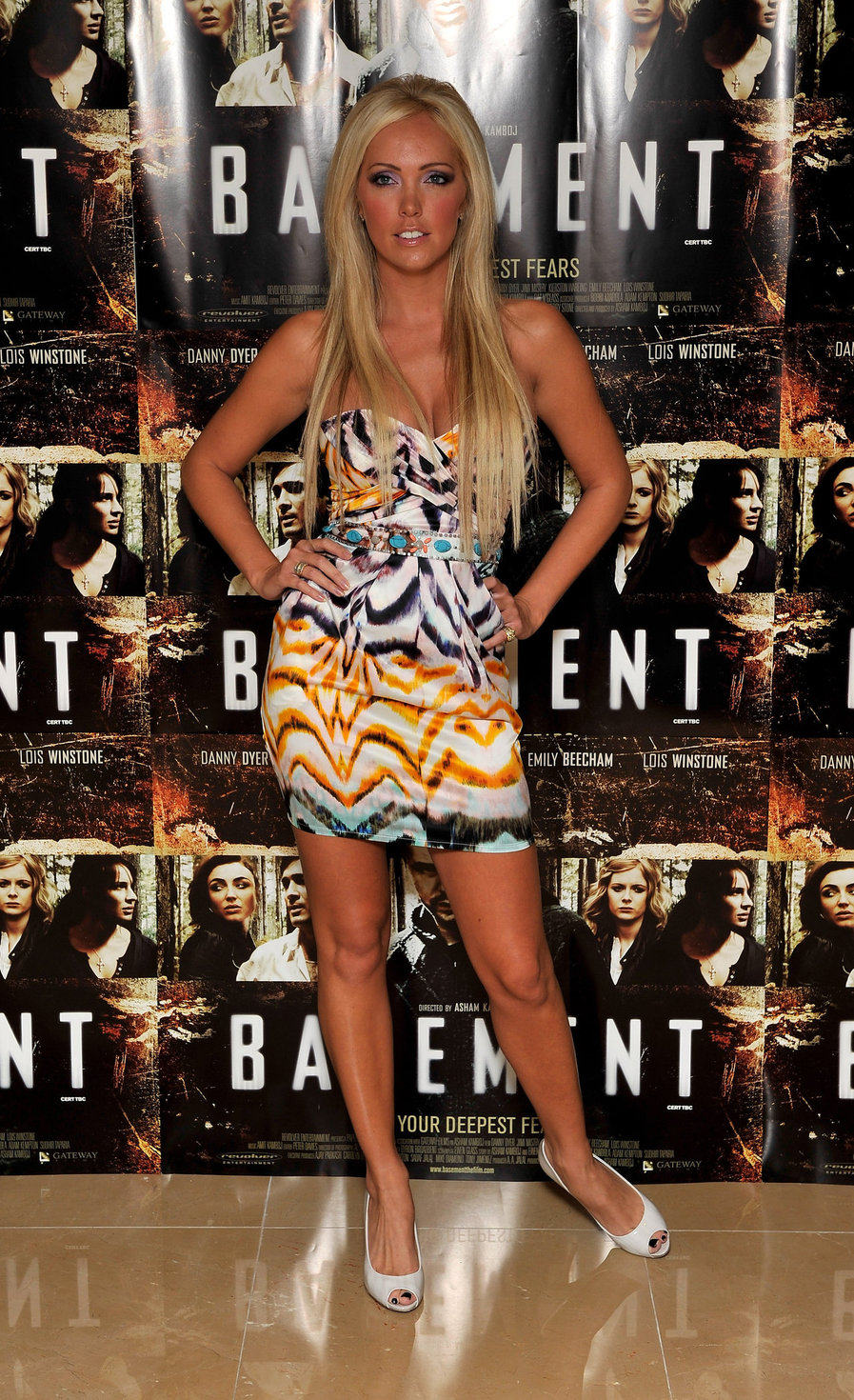 Aisleyne Wallace UK premiere of Basement at the Mayfair Hotel on August 17, 2010 in London