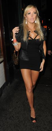 Aisleyne Horgan Wallace at the Jetblack Club in London 22.10.11