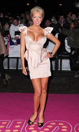 Aisleyne Horgan Wallace Burlesque premiere Dec 13, 2010