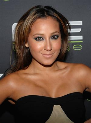 Adrienne Bailon KIIS FM's Jingle Ball at Nokia Theatre Live in Los Angeles California