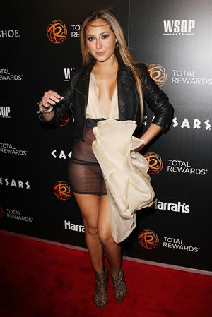 Adrienne Bailon escape to total rewards at gotham hall in new york 01.03.12