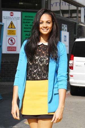 Alesha Dixon - London studios - 30th March 2012
