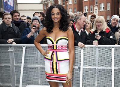 Alesha Dixon - Britains Got Talent Auditions London Feb. 6 2012