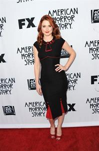 Alexandra Breckenridge American Horror Story special screening on April 18, 2012