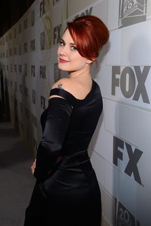Alexandra Breckenridge - 64th Primetime Emmys Nokia Theatre LA Sept 23, 2012