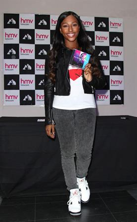 Alexandra Burke - Promotes her new album at HMV in Manchester (June 6, 2012)