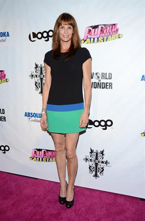 Alexandra Paul  Rupaul's Drag Race: All Stars  Premiere Party (Oct 16, 2012)