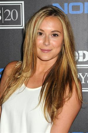 Alexa Vega arrives at ESPN The Magazine 4th Annual 'Body Issue' Party at Belasco Theatre on July 10, 2012 in Los Angeles, California.