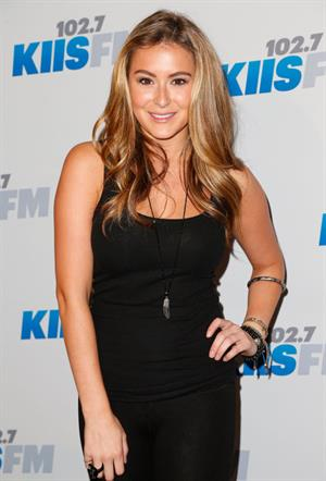 Alexa Vega at KIIS FM Jingle Ball Second Night in Los Angeles on December 12, 2012